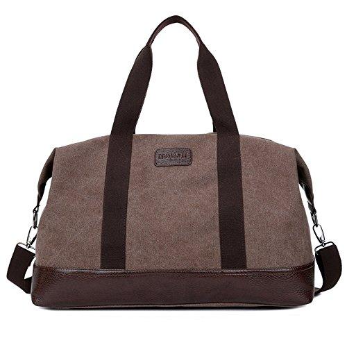 Pour Le En Bags Sacs Couleur Travel Hommes Bandoulière Crossbody À Messenger Bag Café Travail Toile Et Homme L'école wq8ABOxU