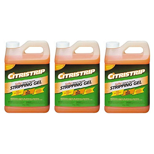 Citristrip Paint & Varnish Stripping Gel - 1/2 Gallon (3 pack)