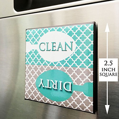 Review Clean Dirty Dishwasher Magnet