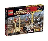 LEGO Super Heroes 76037 Rhino and Sandman Super Villain Team-Up Building Kit