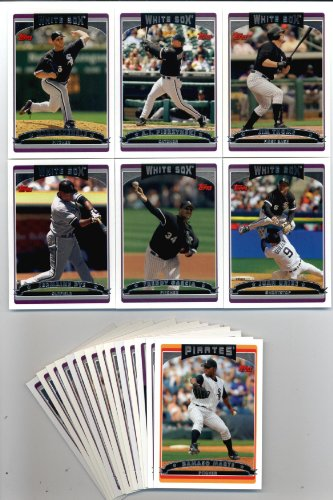 2006 Topps Team Set (2006 Topps Chicago White Sox Complete Baseball Cards Team Set (20 cards))