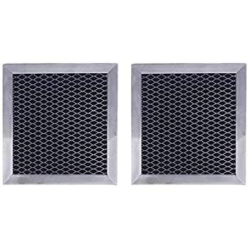 Replacement for Whirlpool 8206230A Microwave Charcoal Filter (2-Pack)