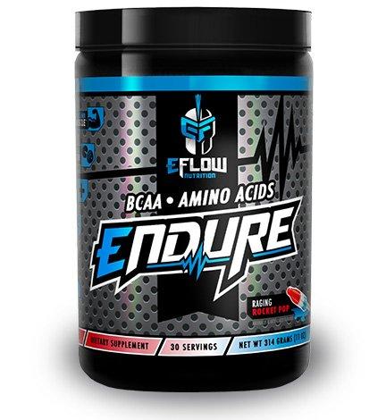 ENDURE BCAA / AMINO ACIDS RAGING ROCKET POP / Glutamine, Recovery, Intra Workout