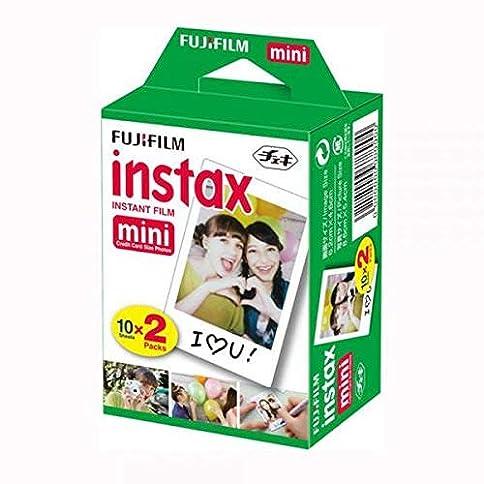 Fujifilm Instax Mini Instant Polaroid Camera 300 7S 8 25 30 50S 55-20 Films Fuji - 51JY9qdXw9L - Fujifilm Instax Mini Twin Film Pack (20 Exposures)
