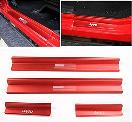 For Nissan Pathfinder Entry Guard Door Sill Cover Protector S Steel Exclusive