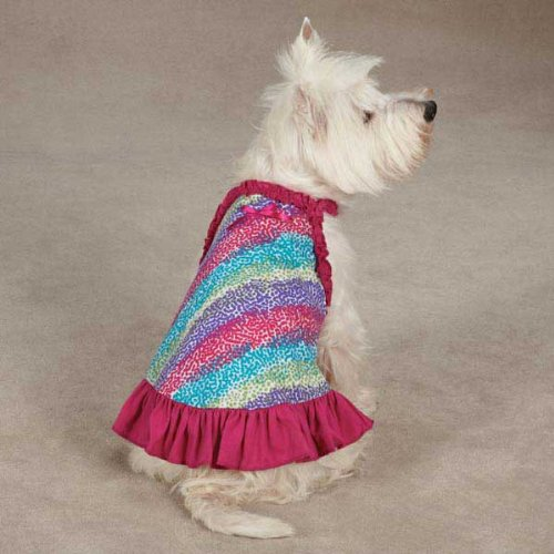 Confetti Dog Dress-xsmall
