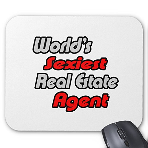 Zazzle World's Sexiest Real Estate Agent Mouse Pad