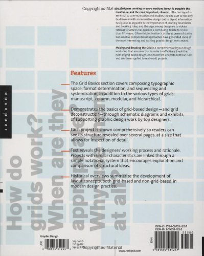 Making And Breaking The Grid A Graphic Design Layout Workshop Samara Timothy 9781592531257 Amazon Com Books
