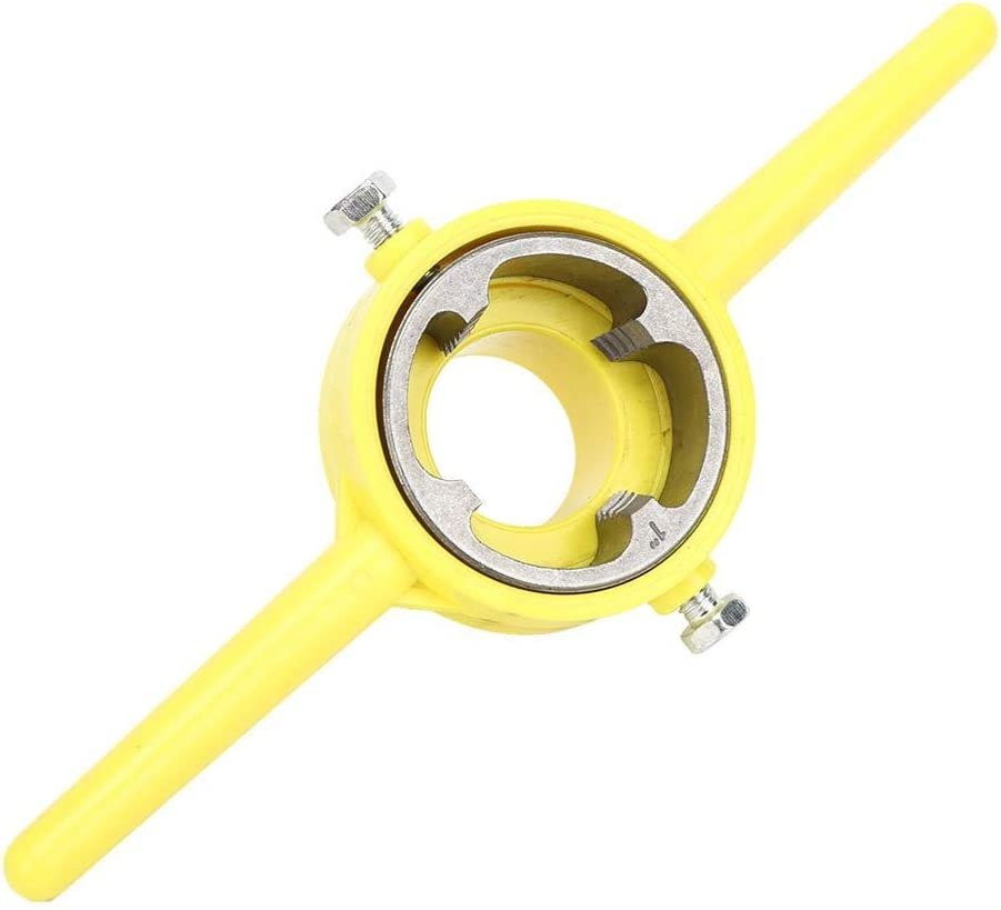 Outil de filetage de tuyau Fabricant de filetage en PVC NPT Round Die Set Outil de plomberie pour filetage de tuyau