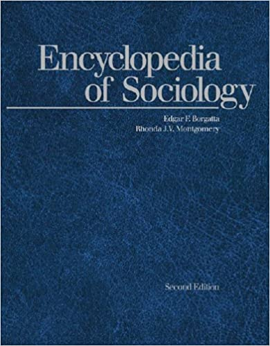 Cover:Encyclopedia of sociology