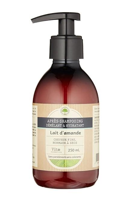 vitæ Cosmetics Après shampoing Hydratant leche de almendras 250 ml – juego de 2