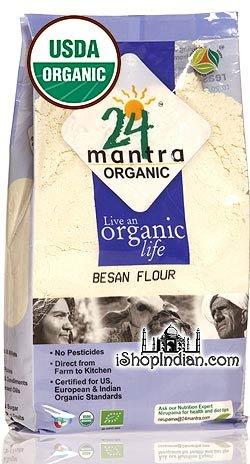 (24 Mantra Organic Besan 2lb)