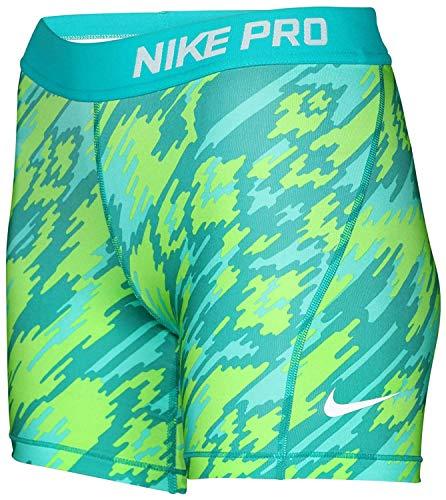 2e28aaed4f Nike Big Girls (7-16) Dri-Fit Pro Allover Print Training Boy Shorts ...