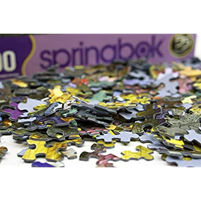 Springbok Puzzles - Delivering a Classic - 1000 Piece Jigsaw Puzzle - Large 30 Inches by 24 Inches Puzzle - Made in USA - Unique Cut Interlocking Pieces: Toys & Games