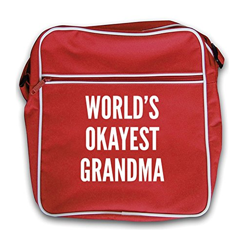 Okayest Bag Red Red Okayest Okayest Red Flight Red World's World's Grandma Flight Retro Retro Bag World's Grandma CHSBqqAw