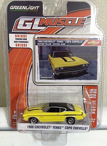 - Greenlight 1969 CHEVY YENKO COPO CHEVELLE Yellow MUSCLE CAR Series 14