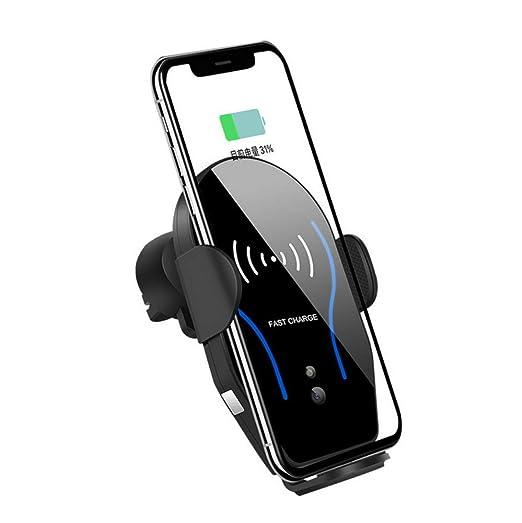 ALZHP Cargador Inalámbrico Coche, 10w Qi Rápida Wireless ...