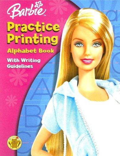 Download Barbie Alphabet Workbook Practice Printing pdf