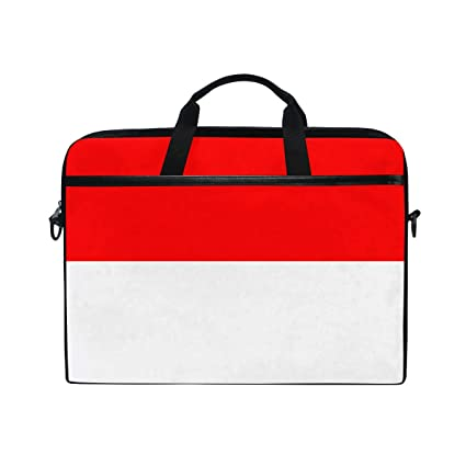 Amazon.com  Laptop Indonesia Flag Waterproof Shoulder Bag for 15 ... a68c69b7430d