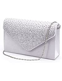 Amazon.com: Silvers - Evening Bags / Clutches & Evening Bags ...