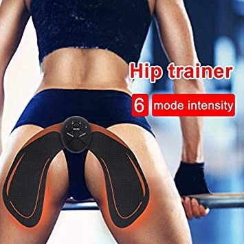 990bbae5e Qinbt EMS Hip Trainer Muscle Stimulator ABS Fitness Buttocks Butt Lifting  Buttock Toner Trainer Slimming Massager Unisex  Amazon.co.uk  Sports    Outdoors