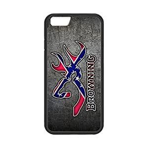 Browning Deer Camo Flag Pattern for iPhone 5s Case Cover 0385s95s Rubber Sides Shockproof Protection with Laser Technology Printing Matte Result