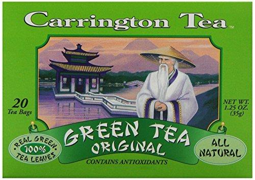 Carrington Green Tea, Original, 20 Tea Bags (Pack of 6) by Carrington - Carrington Green Tea Tea