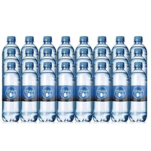 16.9 oz CPAP H20 Premium Distilled Water (24-Bottle Pack) 48 Days Supply