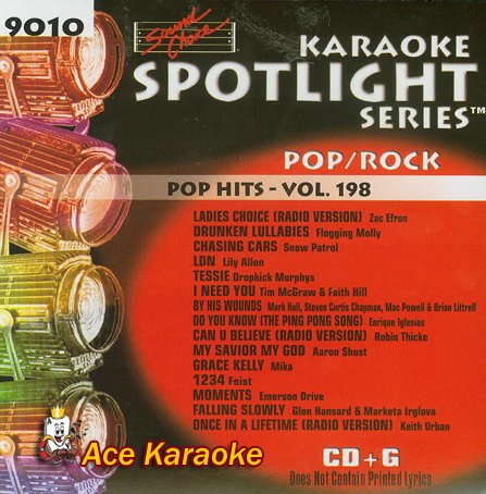 Sound Choice Karaoke Spotlight CDG SCG9010 - Pop Hits Vol. ()