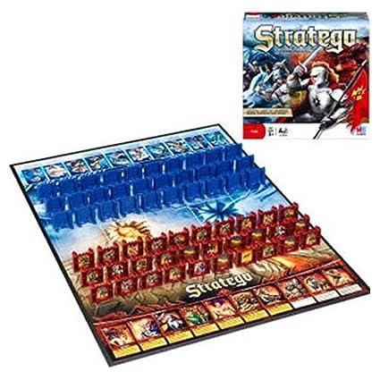 amazon com milton bradley stratego toys games