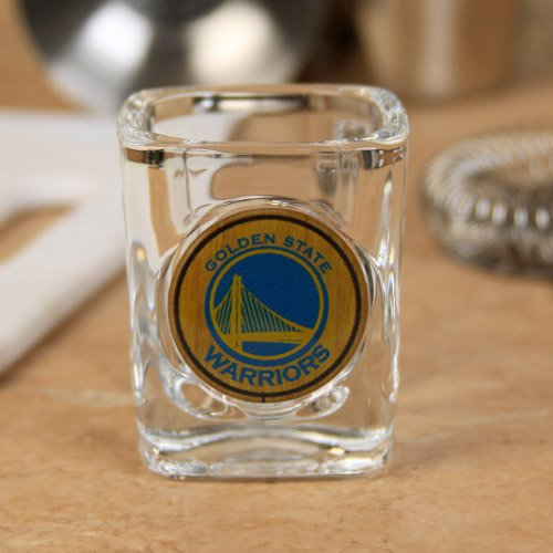 Golden State Warriors Square Shot Glass