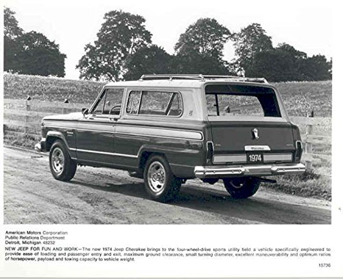 1974 Jeep Cherokee 2 Door Factory Photograph