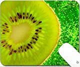 juicy juice fruitfuls - Luxlady Gaming Mousepad Slice kiwi floating in water 9.25in X 7.25in IMAGE: 3814829
