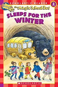 The Magic School Bus Sleeps For The Winter (MSB Science Reader, Level 2) 0439569893 Book Cover