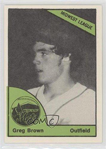 Greg Brown (Baseball Card) 1978 TCMA The Minors - [Base] #0389 ()