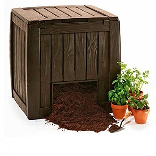 Keter 0005535 Compostador, 72 cm x 74 cm x 69.5 cm: Amazon ...