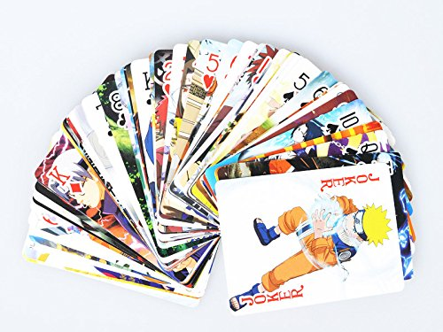 Naruto Cosplay Poker Playing Cards 54 Pcs a Set Mp002048