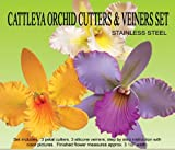 Cattleya Orchid Gumpaste Cutter Set by PETAL CRAFTS