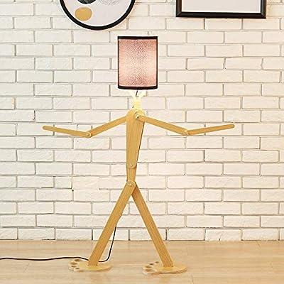 Lámpara de pie original de madera, 1.1M, lámpara de pie ...