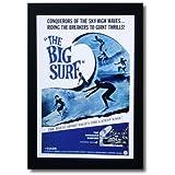 ハワイアンポスター サーフィンシリーズ N-1 「THE BIG SURF」 サイズ:31×21cm