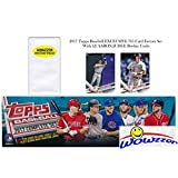 2017 Topps Baseball EXCLUSIVE MASSIVE 705 Card Retail Factory Set with TWO(2) AARON JUDGE ROOKIES & Bonus Wowzzer Mystery Pack with AUTOGRAPH or MEMORABILIA Card! Includes all Cards from Series 1 & 2!