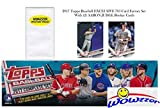 #10: 2017 Topps Baseball EXCLUSIVE MASSIVE 705 Card Complete Factory Set with TWO(2) AARON JUDGE ROOKIES & Bonus Wowzzer Mystery Pack with AUTOGRAPH or MEMORABILIA Card! Includes all Cards from Series 1 &2