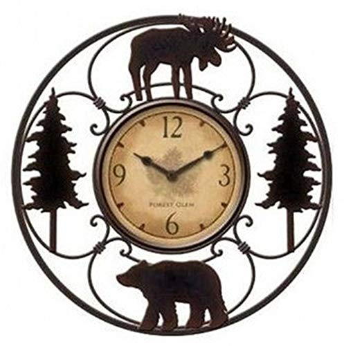 Wildlife Wire Wall Decoractive Clock 11