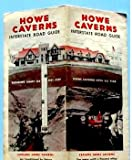 Howe Caverns Road Map / Interstate Road Guide 1949 offers