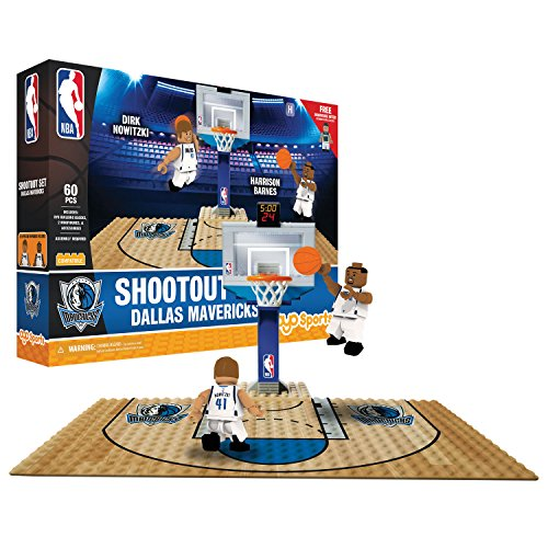 Dallas Mavericks Block - OYO NBA Dallas Mavericks Display Blocks Shootout Set, Small, No Color