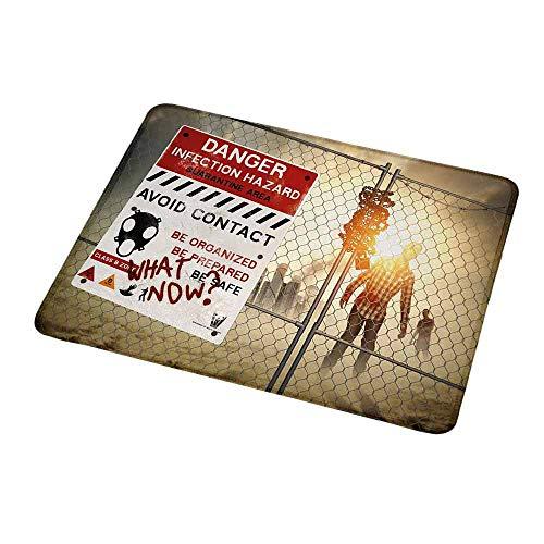 Custom Mouse Pad Gaming Mat Zombie,Dead Man Walking