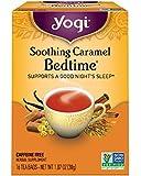 Yogi Tea, Soothing Caramel Bedtime, 16 Count, Packaging May Vary