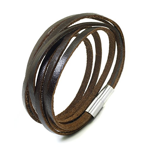 JewelrieShop Monotone Magnetic Bracelet Wristband