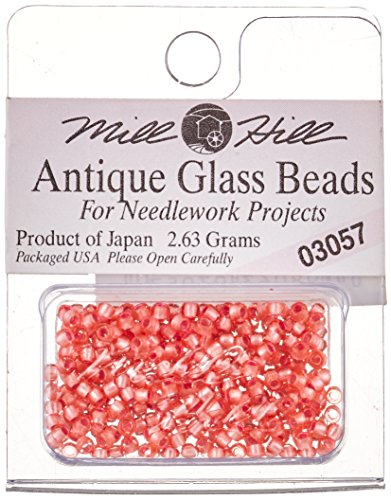 Mill Hill Antique Glass Seed Beads 2.63 Grams/Pkg-Cherry Sorbet