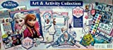 Frozen Art & Activity Collection Includes 15 Craft Projects - Over 1000 Items, Sticker, Stamp, Paint with Storage Case
